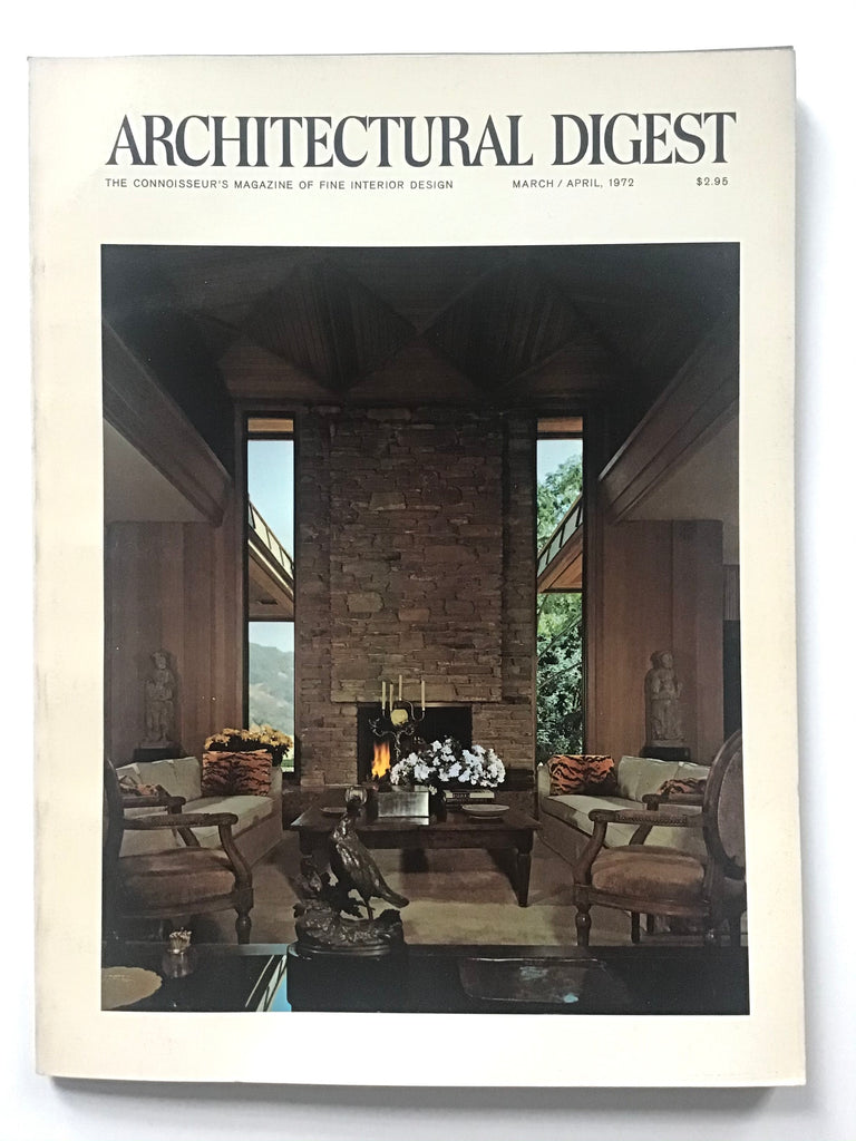 Architectural Digest March/April 1972