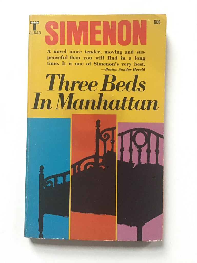 Three Beds in Manhattan by Georges Simenon