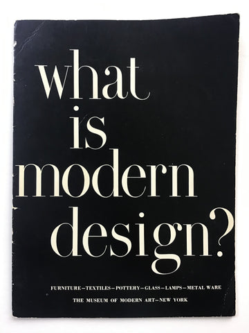 What Is Modern Design?