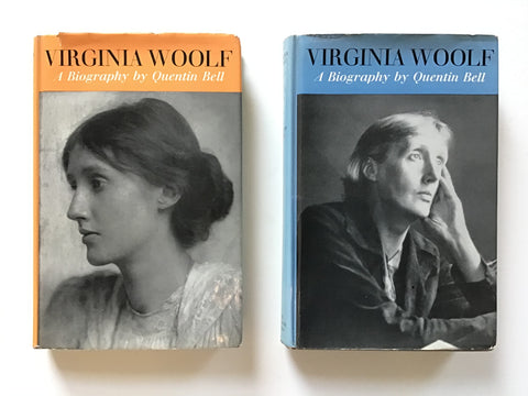 Virginia Woolf : A Biography in two volumes by Quentin Bell hogarth press