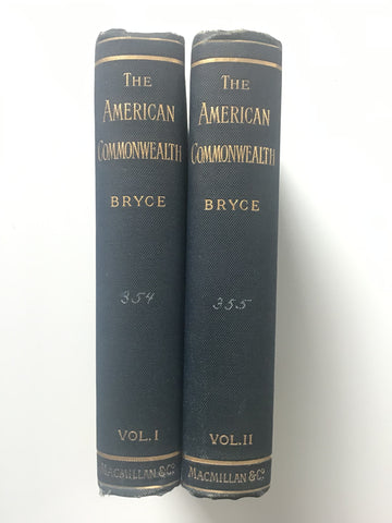 The American Commonwealth by James Bryce