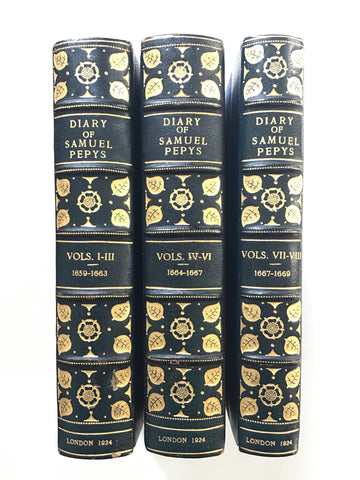 The Diary of Samuel Pepys [three volumes]