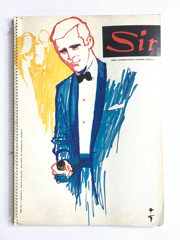 Sir : Men's international Fashion Journal 1965 spring