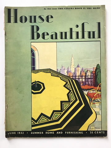 House Beautiful June 1932
