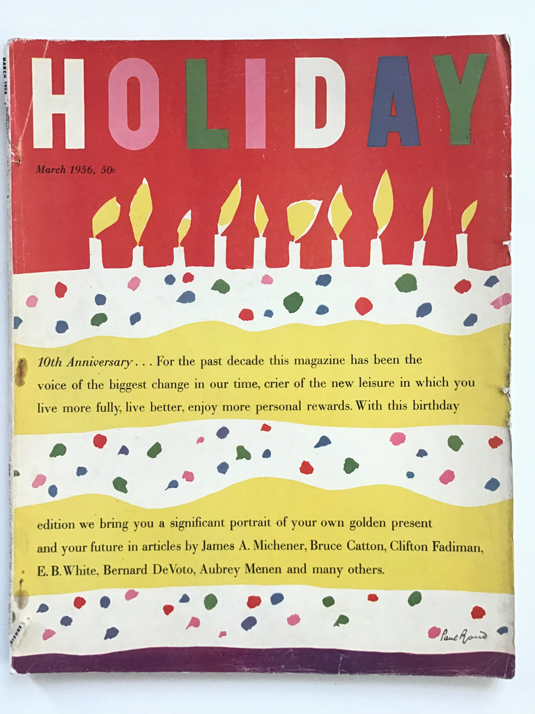 Holiday magazine March 1956
