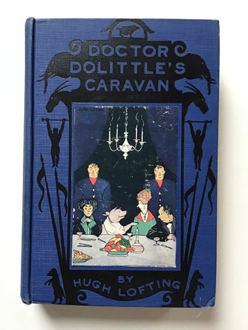 Doctor Dolittle's Caravan First edition
