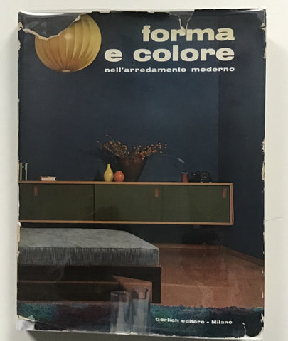 Forma e Colore nell'arredamento moderno [form and color in modern interior design]