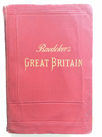 Baedeker's Great Britain 1910