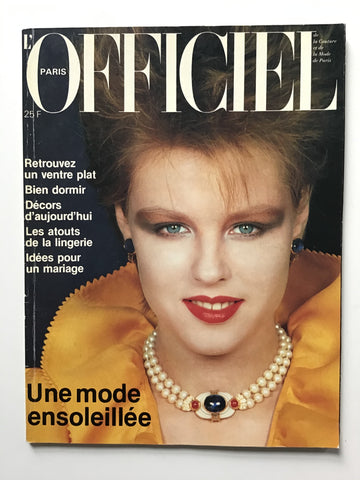 L'Officiel Paris Avril 1982
