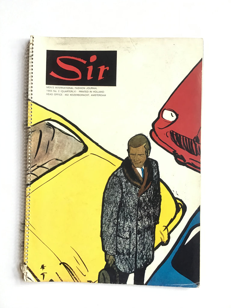 Sir : Men's international Fashion Journal 1965 no. 2 Summer