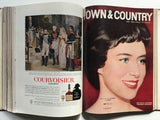 Town and Country bound volume January to June 1960