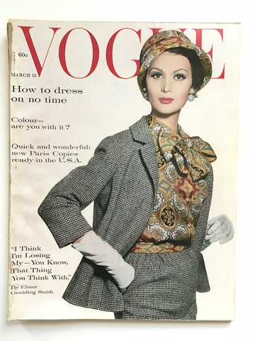Vogue Magazine March 15, 1961