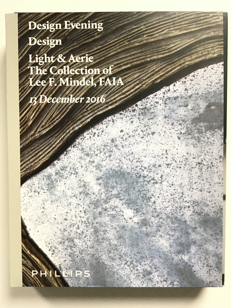 Design Evening / Design / Light & Aerie The collection of Lee F. Mindel, FAIA