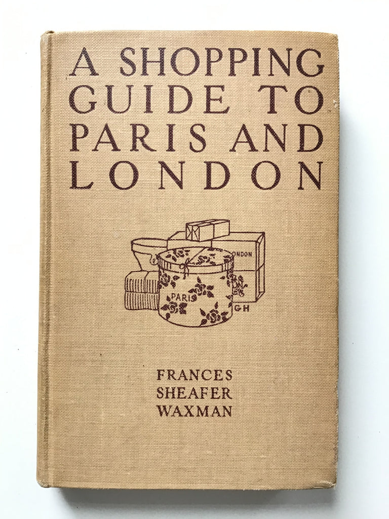 A Shopping Guide to Paris and London