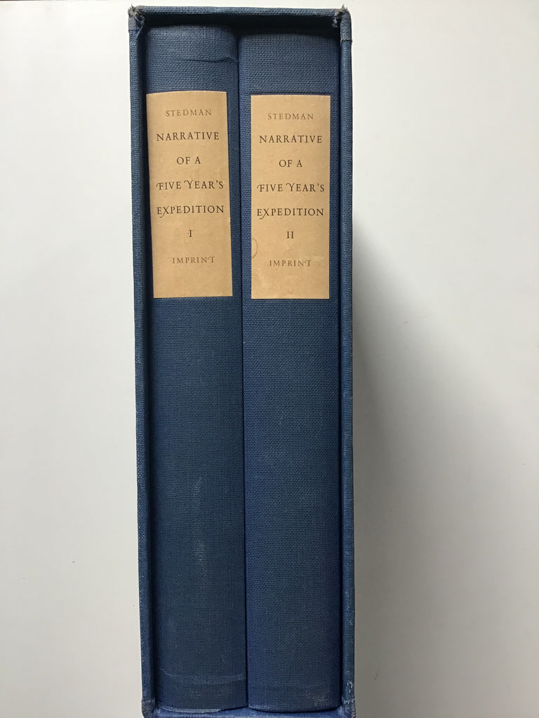 Narrative of a Five Year's Expedition to Surinam by Captain J. G. Steadman