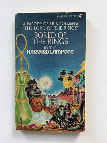 Bored of the Rings Lord National Lampoon original tolkien