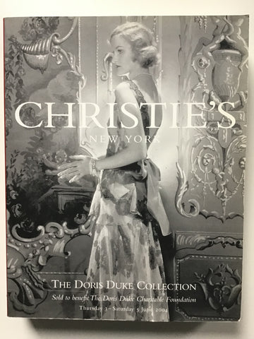 Doris Duke Collection Sold to Benefit the Doris Duke Charitable Foundation