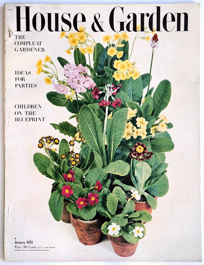 House and Garden January 1951