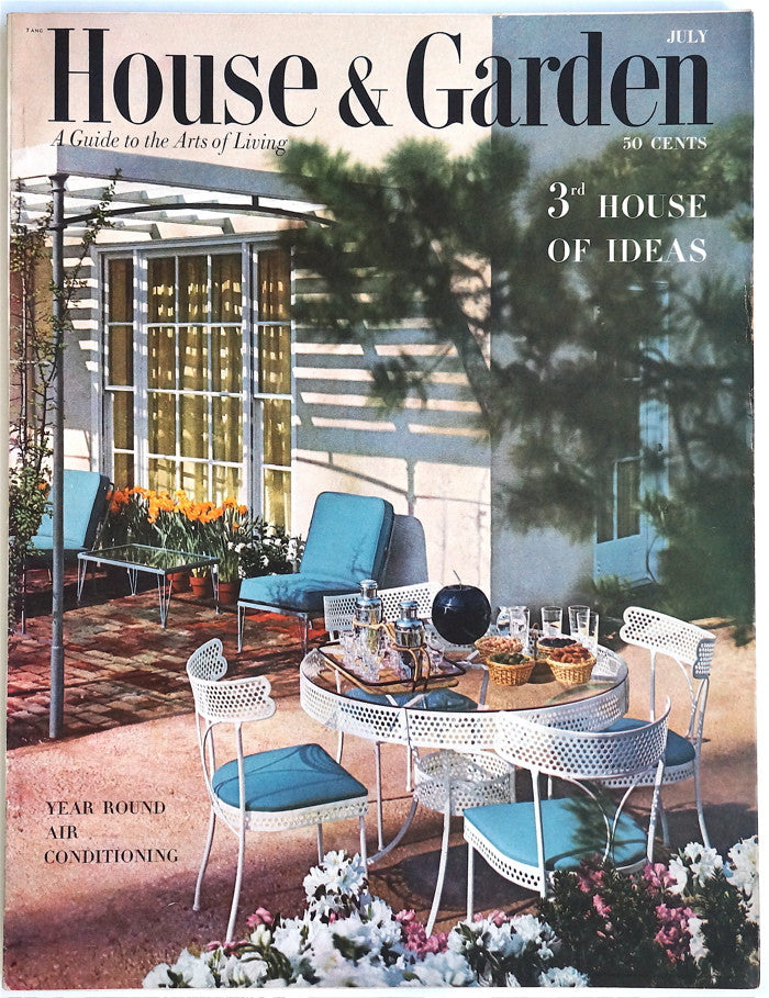 House and Garden July 1953