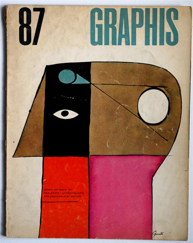 Graphis magazine 87  1960
