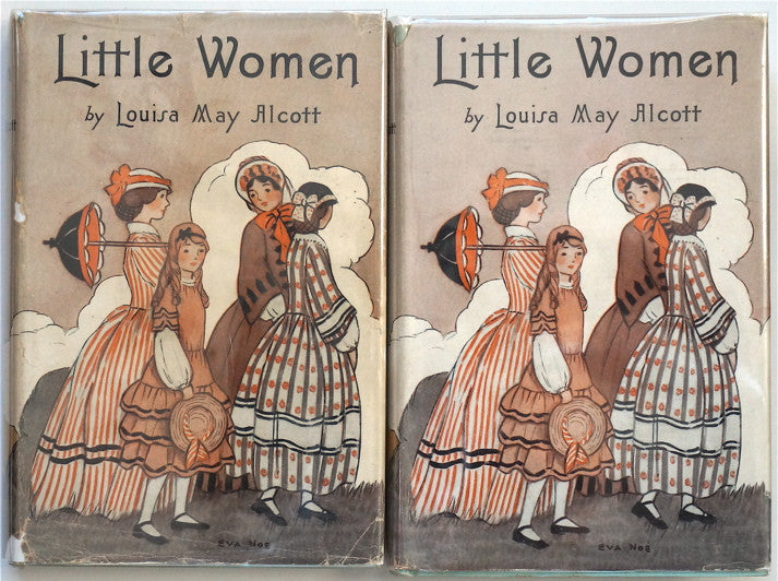 Little Women by Louisa May Alcott (in two volumes)