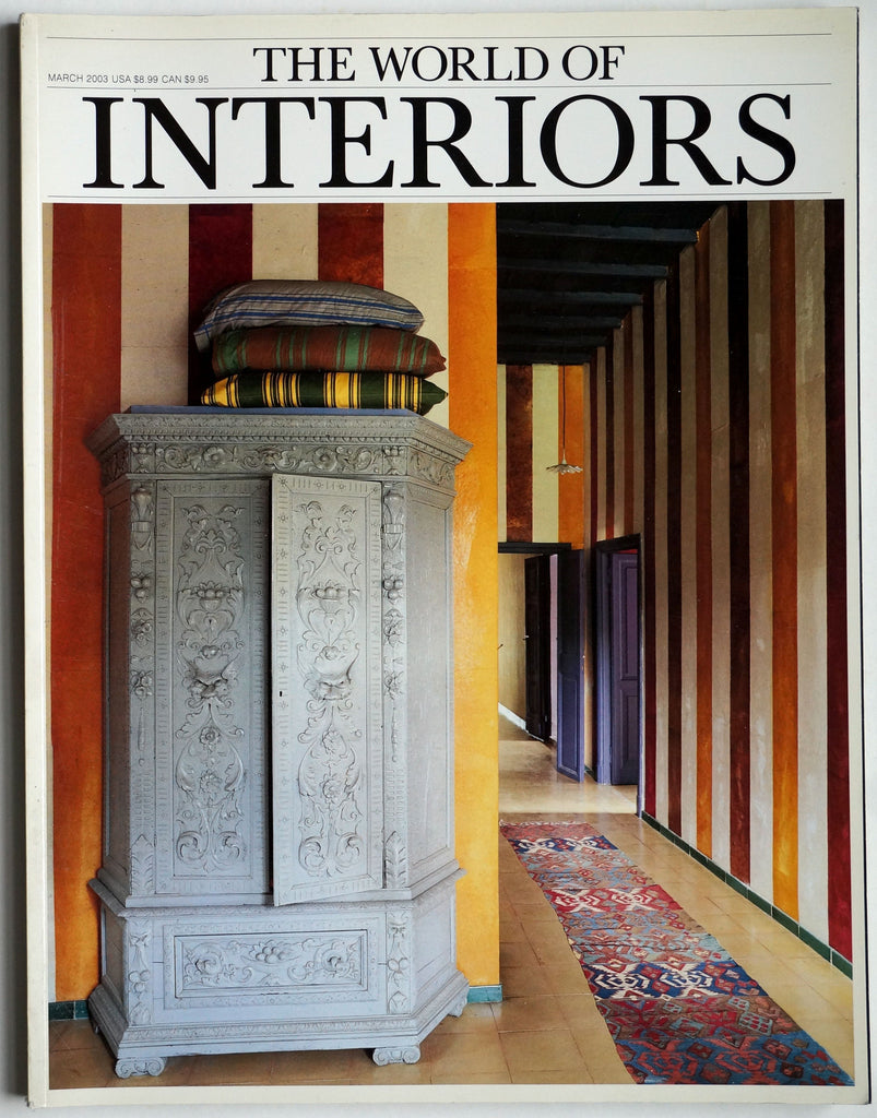 The World of Interiors March 2003