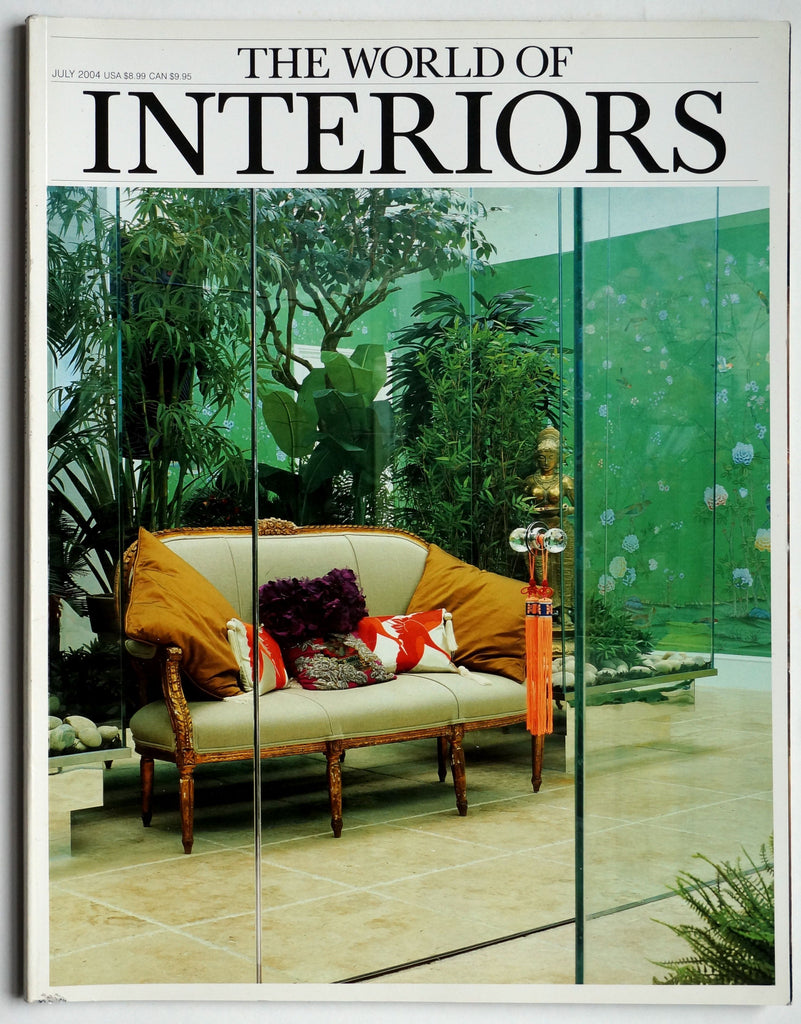 The World of Interiors July 2004