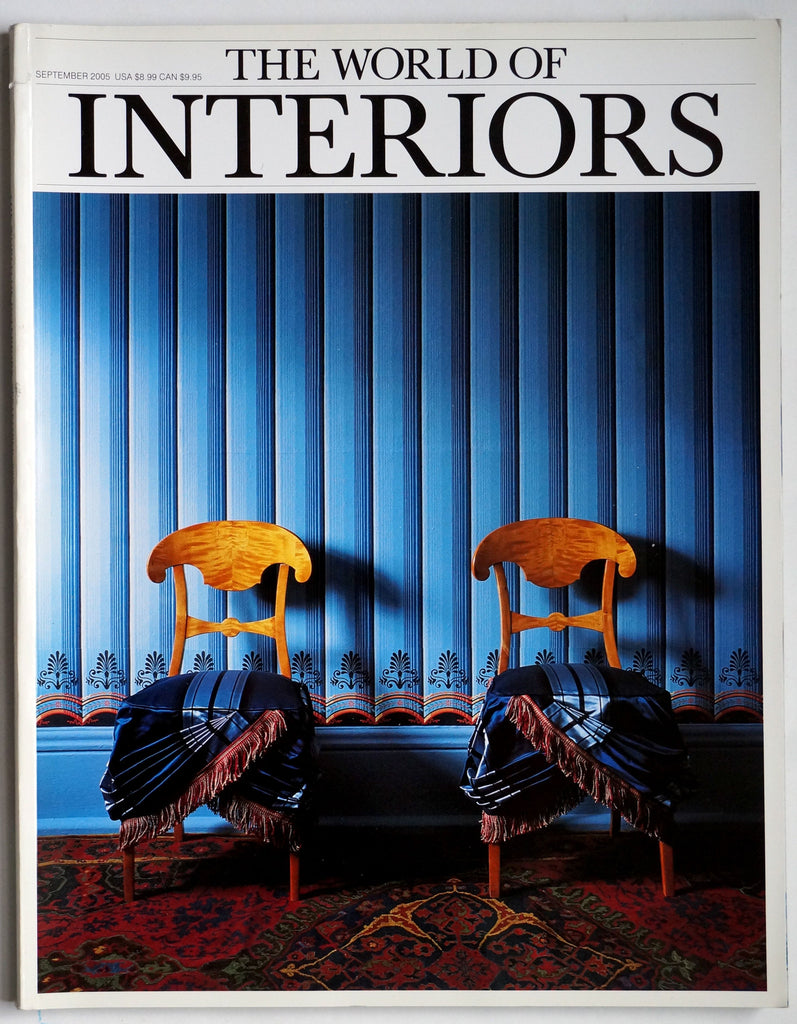 The World of Interiors September 2005