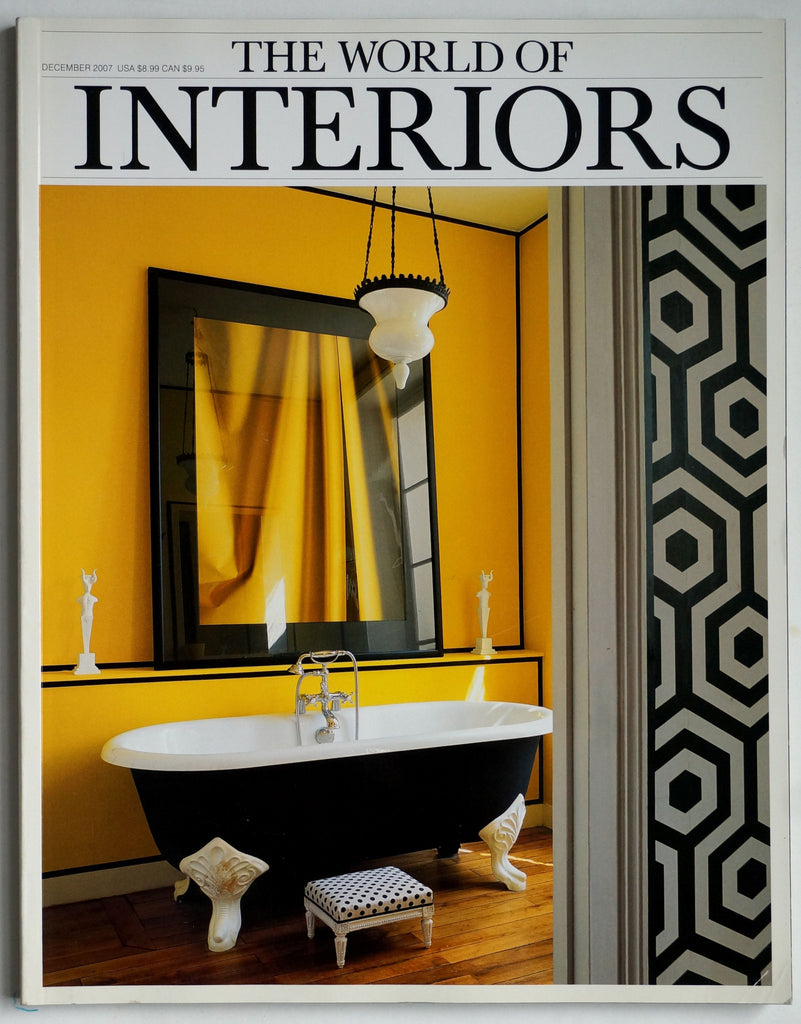 The World of Interiors December 2007