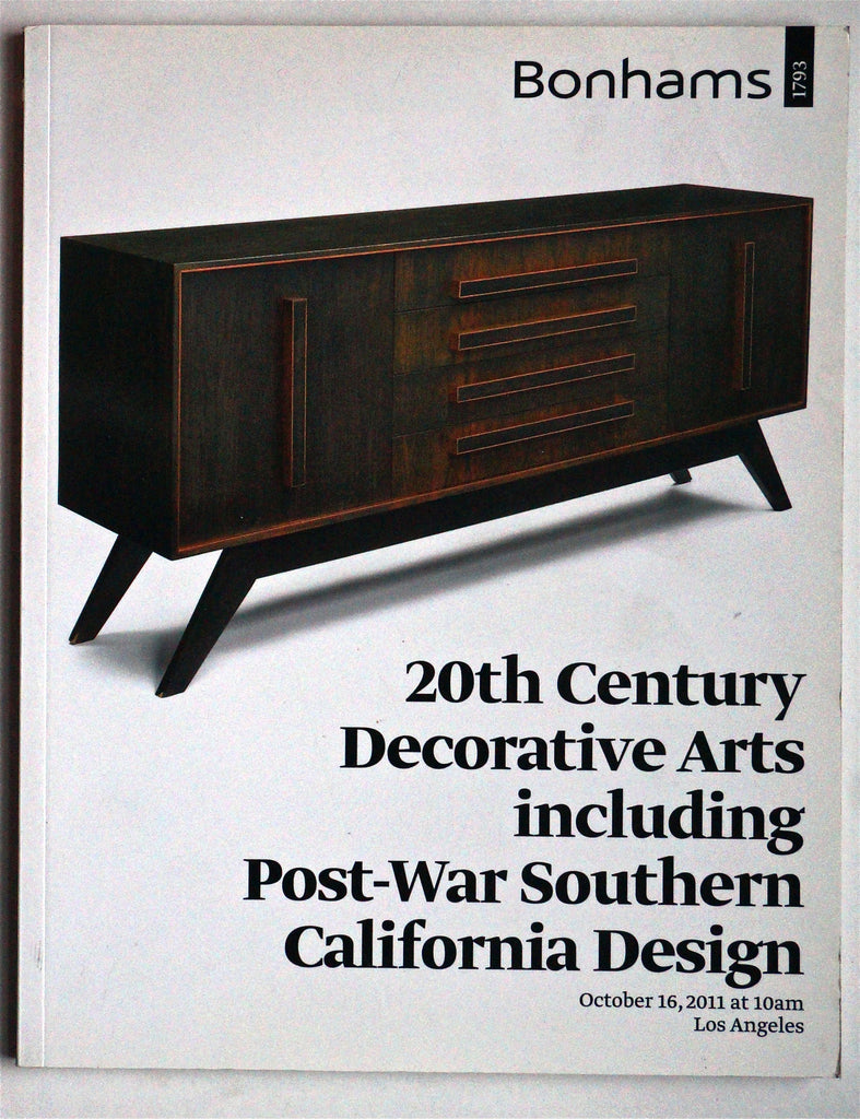 20th Century Decorative Arts Including Post War Southern California Design