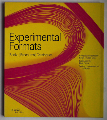 Experimental Formats Books/Brochures/Catalogues