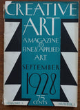 Creative Art September 1928