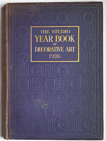 The Studio Year Book of Decorative Art 1926