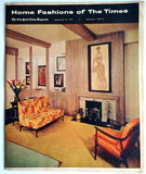 Home Fashions of the Times September 25, 1960