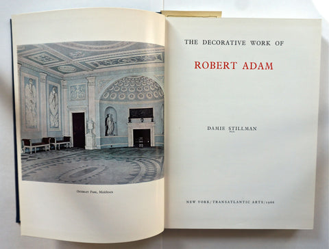 The Decorative Work of Robert Adam