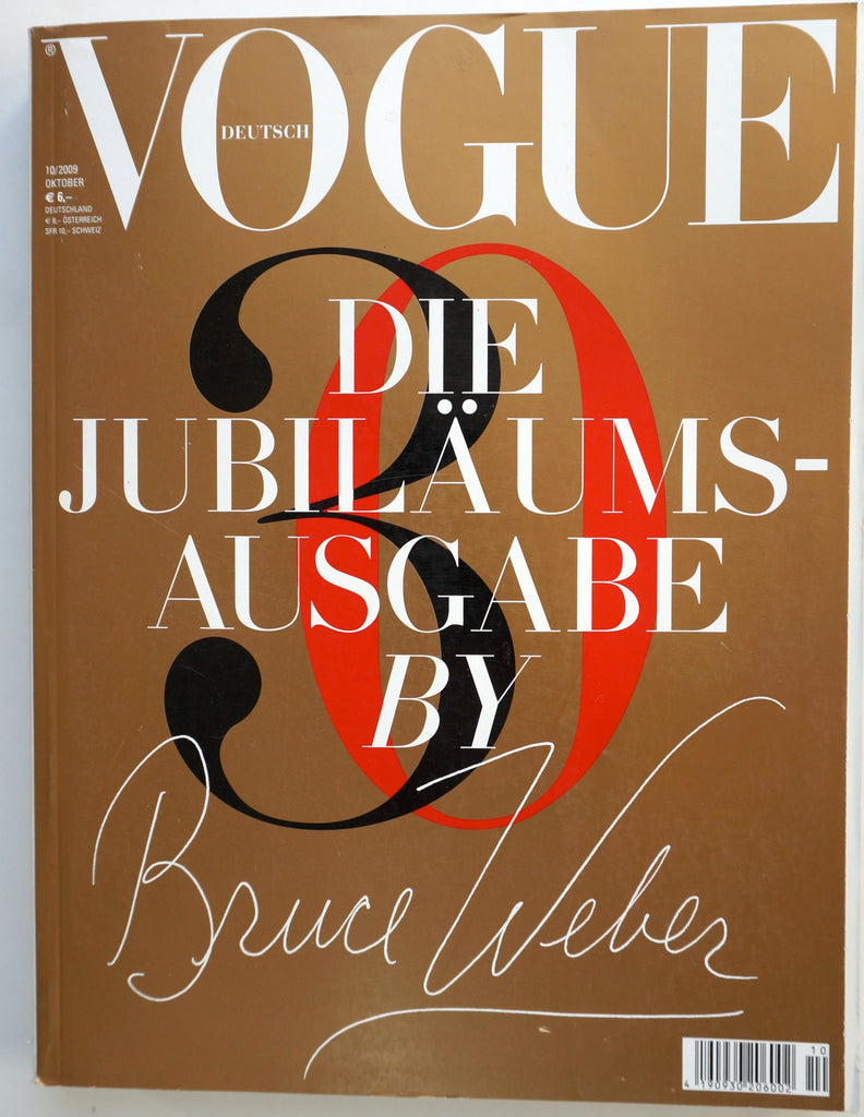 Deutsch Vogue Die Jubilaumsausgabe by Bruce Weber