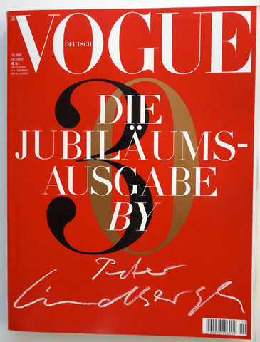 Deutsch Vogue Die Jubilaumsausgabe by Peter Lindbergh