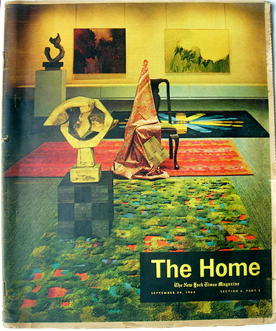 """The Home""  September 29, 1963  The New York Times Magazine"