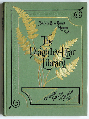 The Diaghilev-Lifar Library