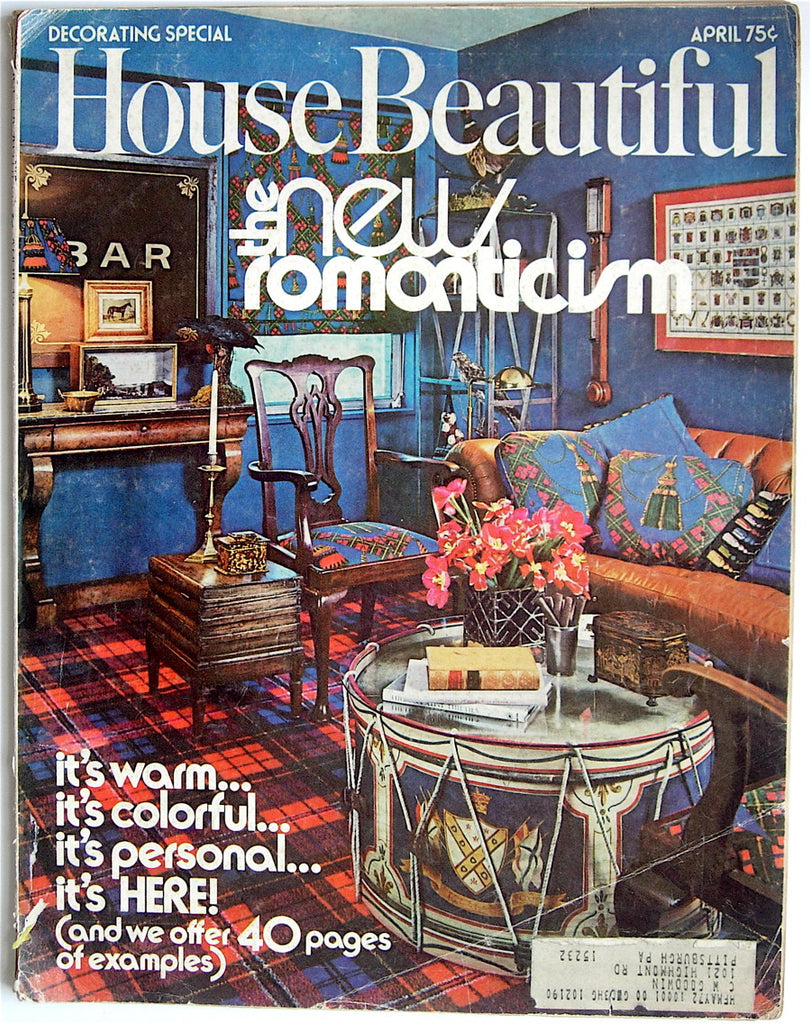 House Beautiful April 1972