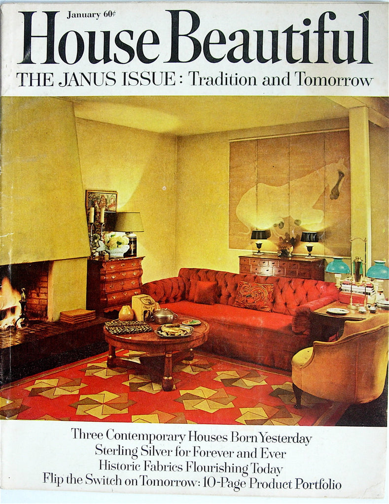 House Beautiful January 1965