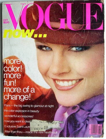 Vogue magazine October 1978