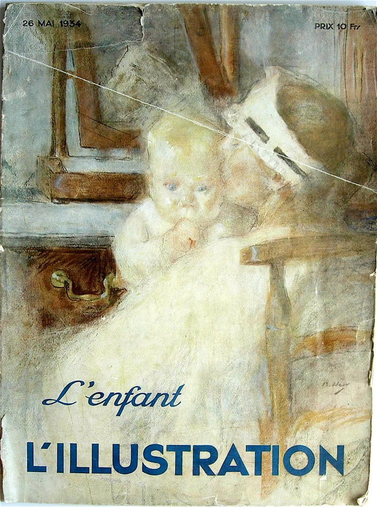 L'Illustration  magazine 26 Mai 1934: L'Enfant