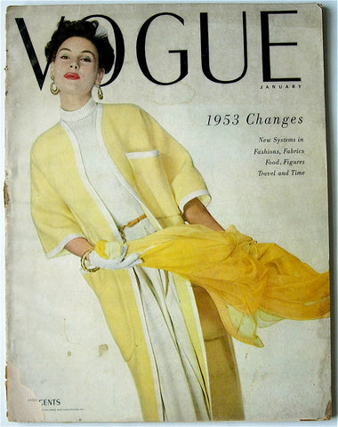 Vogue magazine January 1953