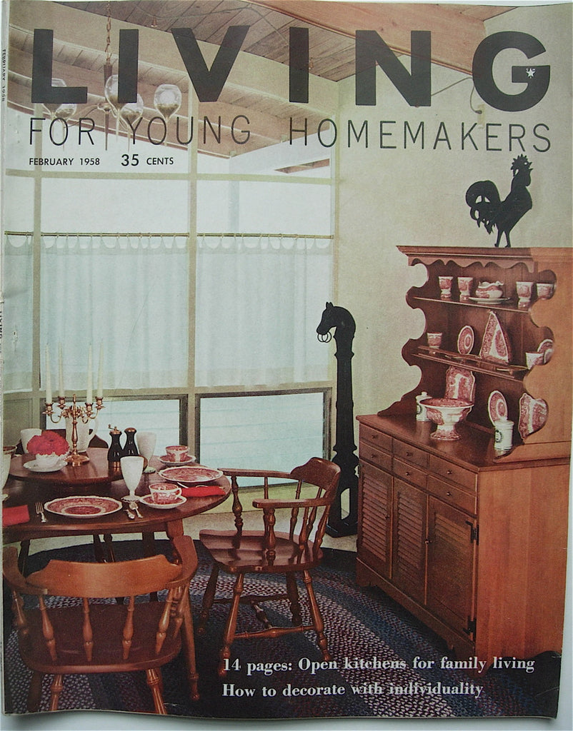 Living for Young Homemakers February 1958