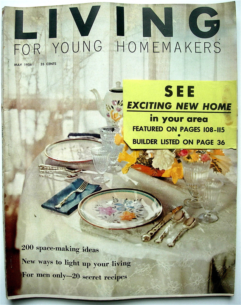 Living for Young Homemakers May 1956