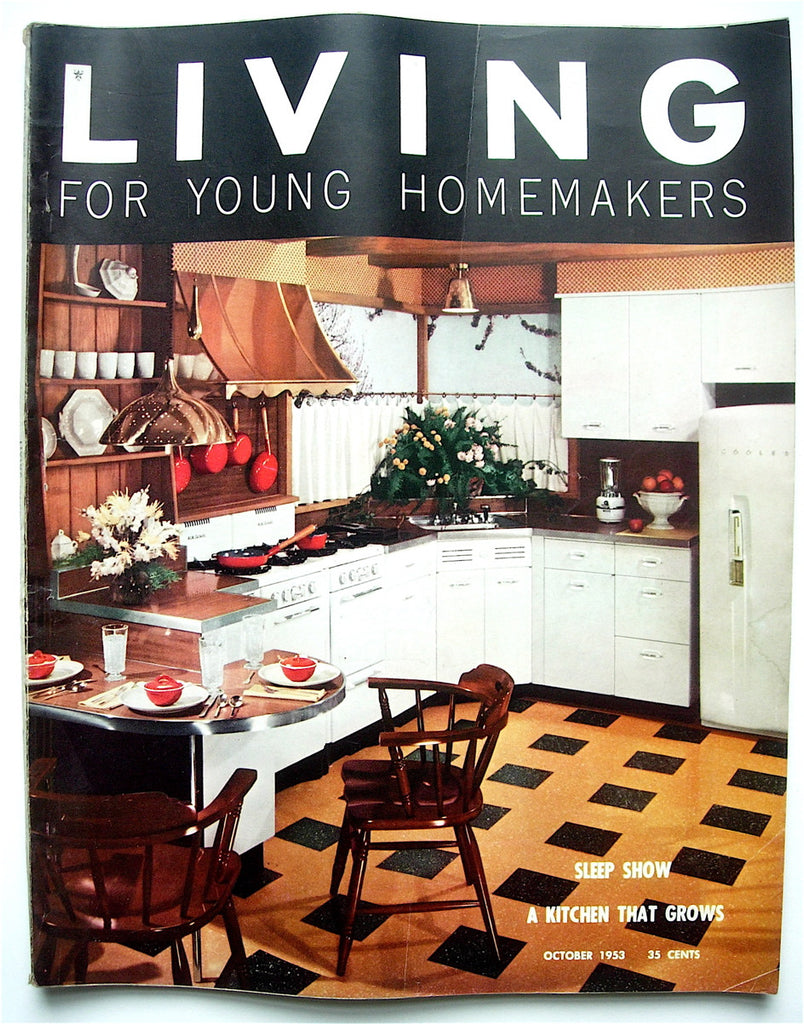 Living for Young Homemakers October 1953