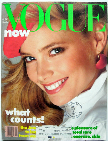 Vogue magazine June 1982
