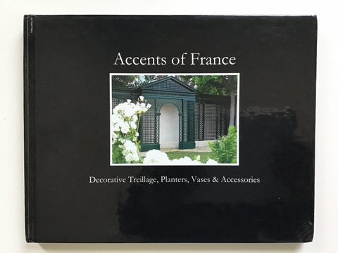 Accents of France    Decorative Treillage, Planters, Vases and Accessories