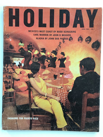 Holiday magazine April 1966